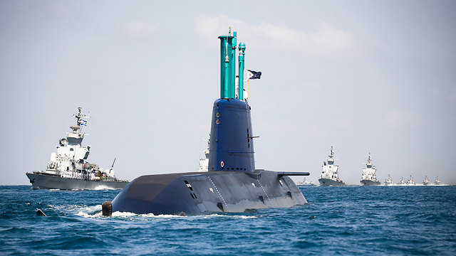 Navy submarine (Photo: IDF Spokesperson's Unit) (Photo: IDF Spokesperson's Unit)