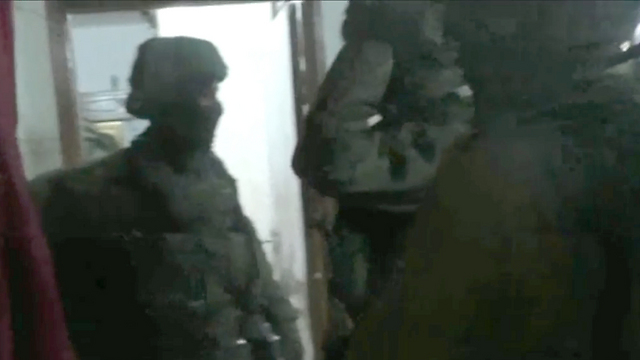 B'Tselem footage of the soldiers