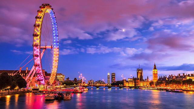 """""""כשלאדם נמאס מלונדון, נמאסו עליו החיים"""" (צילום: shutterstock)"""