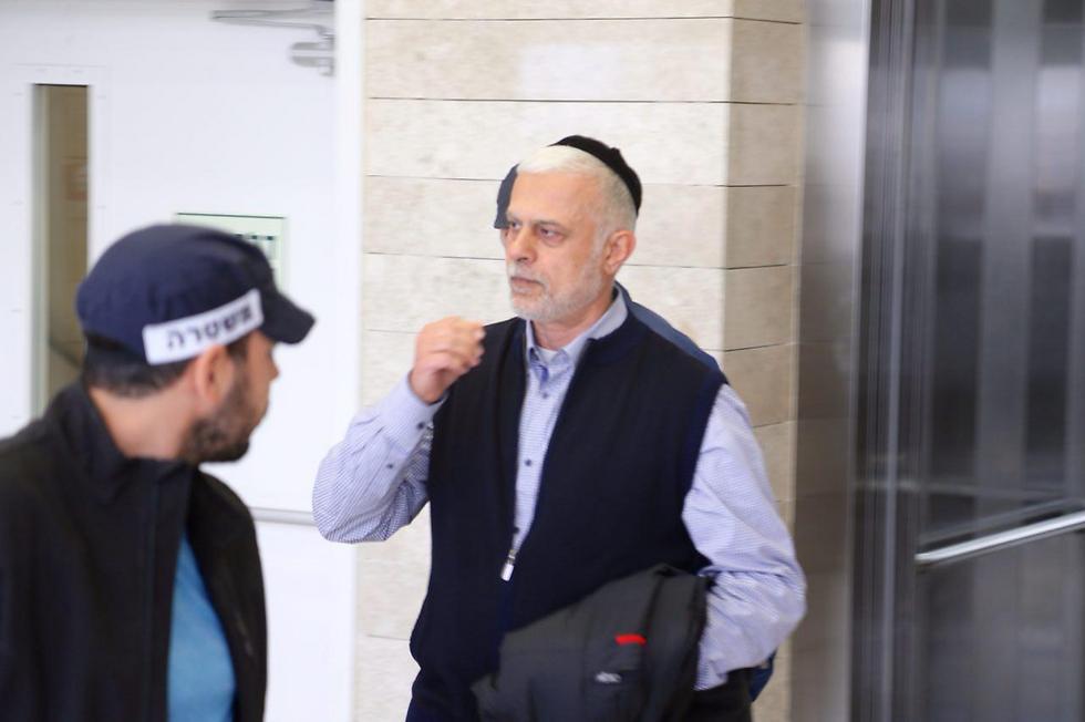 כהן בבית המשפט, בחודש שעבר (צילום: מוטי קמחי)
