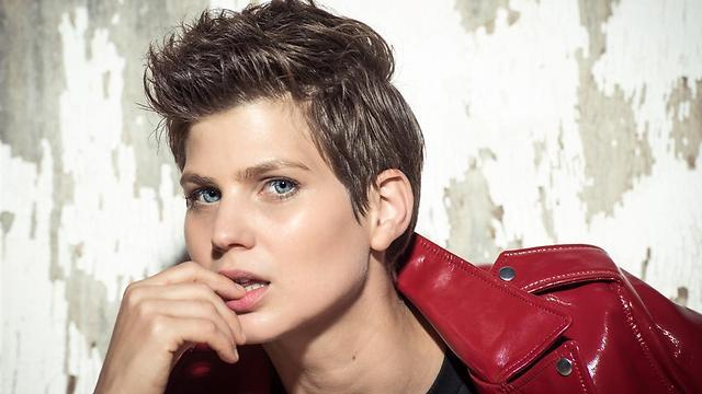 """""""לא אוהבים שחקניות בשיער קצר"""". שמרית לוסטיג (צילום: גבריאל בהרליה) (צילום: גבריאל בהרליה)"""