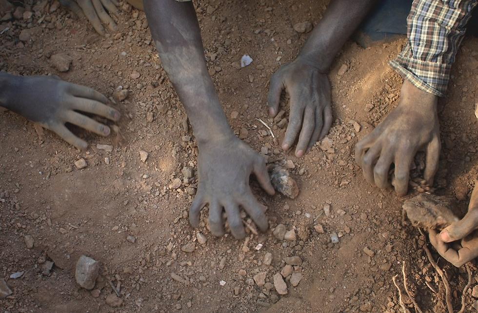 מחפשים זהב במכרות של זימבבואה (צילום: Gettyimages)