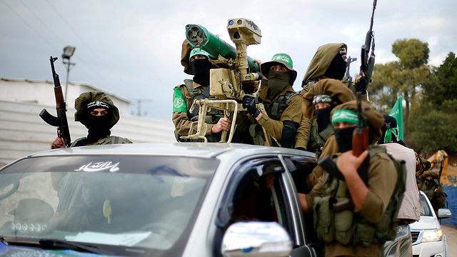 Hamas terrorists (Photo: Reuters)