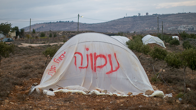 אוהל מחאה בעמונה (צילום: אוהד צויגנברג) (צילום: אוהד צויגנברג)