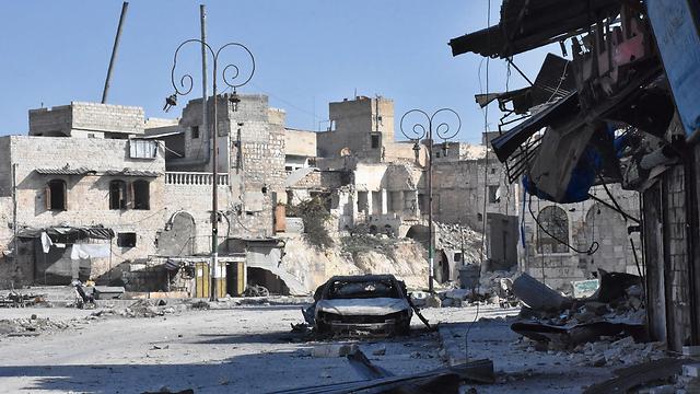 Destruction in Aleppo (Photo: AFP)