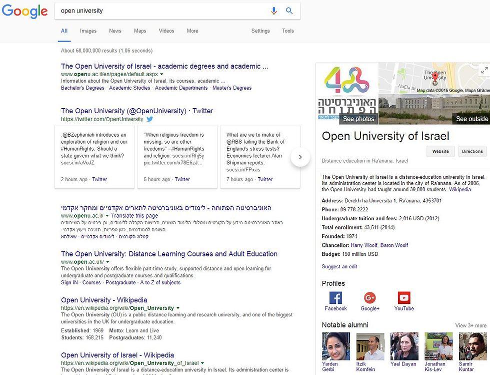 Samir Kuntar (bottom right) in Google's Knowledge Graph