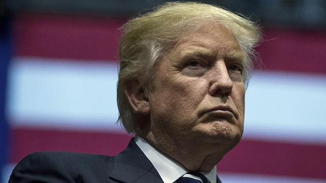 גבר על הדמוקרטים ועל הממסד הרפובליקני. דונלד טראמפ (צילום: AP)