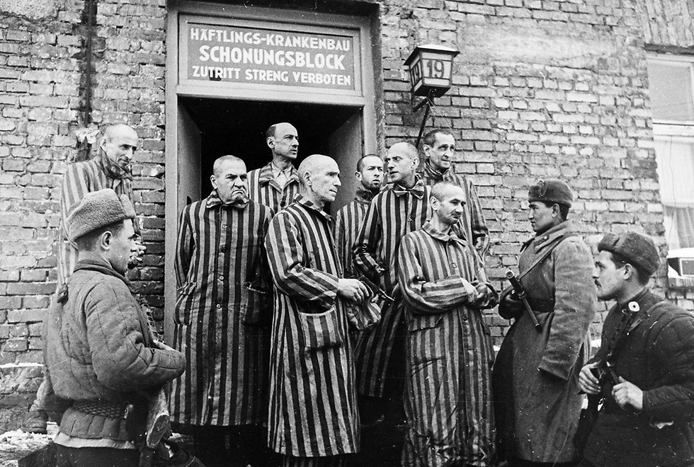 Jews in Poland during the Holocaust (Photo: Getty Images)