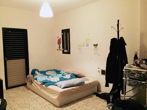 חדר הילדים לפני השיפוץ