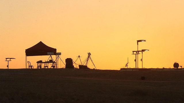 Nevatim Air Force Base (Photo: Motti Kimchi)