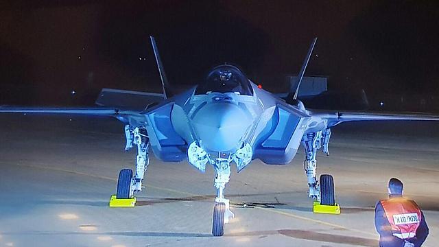 """מטוס ה""""אדיר"""" הראשון בישראל, הערב (צילום: RR מדיה) (צילום: RR מדיה)"""