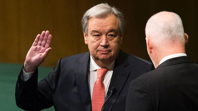 António Guterres sworn in as UN Secretary-General (Photo: AFP) (Photo: AFP)