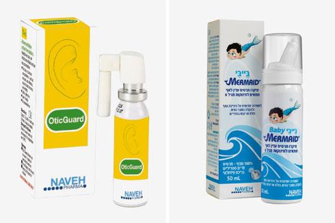 לטיפול בטוח בגודש באף ובדלקות אוזניים. נווה פארמה