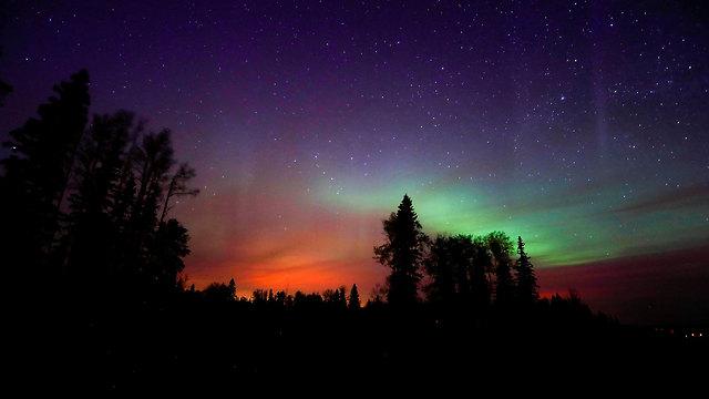 הזוהר הצפוני, כפי שנראה בקנדה (צילום: רויטרס) (צילום: רויטרס)