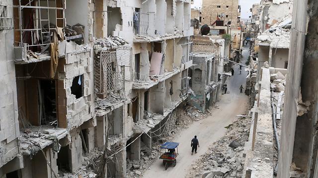 Destruction in Aleppo (Photo: Reuters) (Photo: Reuters)