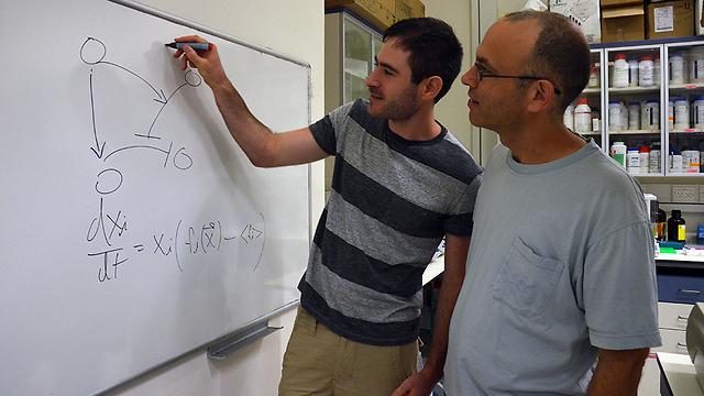 פרופ' קישוני (מימין) ואייל בארי (צילום: דוברות הטכניון)