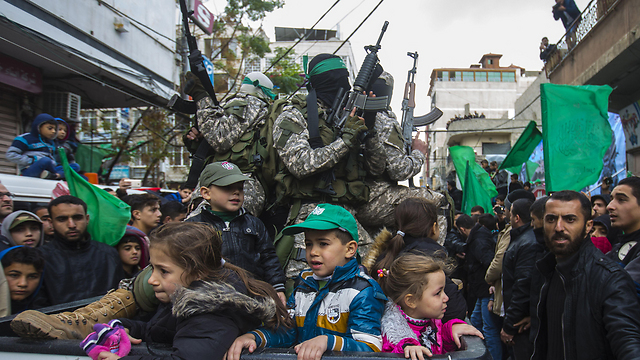 The next generation of Palestinians (Photo: AFP)