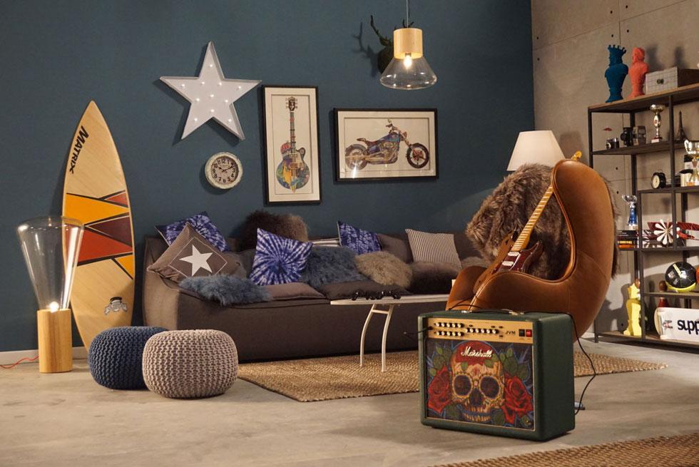 B.teen היא החנות הראשונה שהקימה החברה שעומדת מאחורי רשתות ותיקות כמו ביתילי ו-IDdesign, וזיהתה נישה פנויה - חנות ייעודית לחדריהם של בני הנוער (באדיבות B.teen צילום יוני רייף)