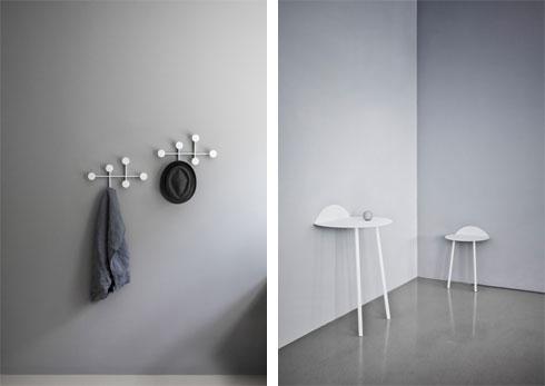 שולחן צמוד לקיר ב-570 שקל, ומתלה למעילים ב-530