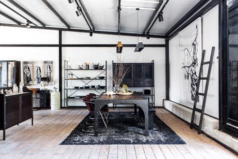 ''וישס גלרי'' מעוצבת כמו בית, על חדריו השונים (צילום: איתי בנית)