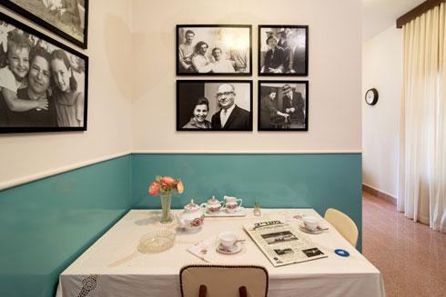 בפינת האוכל הצנועה הזו סעד ראש הממשלה את ארוחת הבוקר (צילום: אילן נחום)