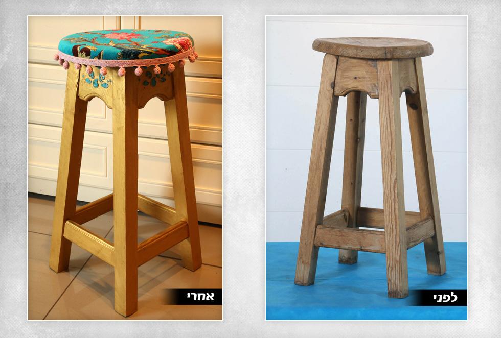 3. כיסא בר של המעצבת נטלי אלל (צילום: צביקה טישלר)
