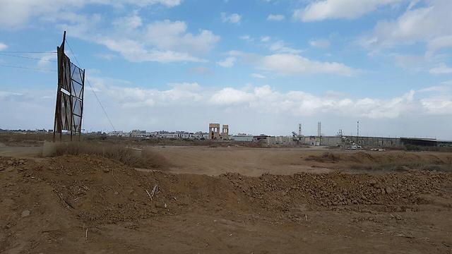 Gaza border area (Photo: Yoav Zitun)