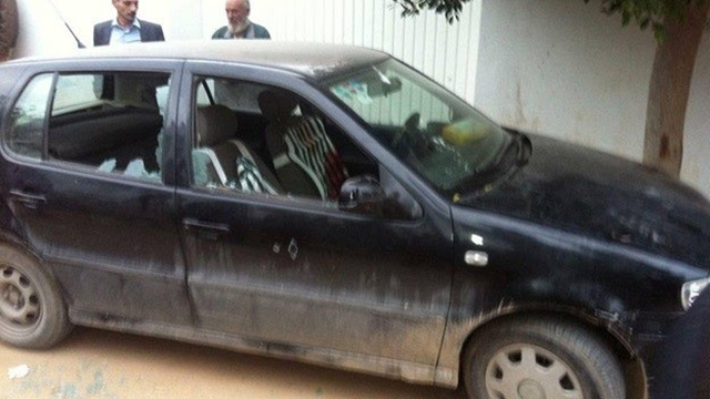 Al-Zahwahri's car in Sfax