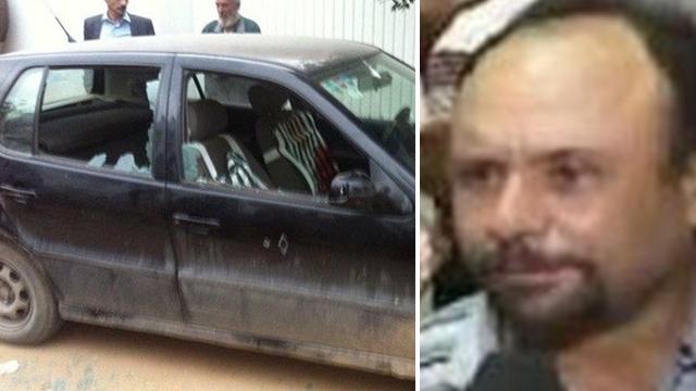 א-זווארי והמכונית שבה נורה למוות ()