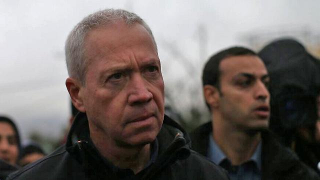 Minister Yoav Galant (Photo: Ohad Zwigenberg)
