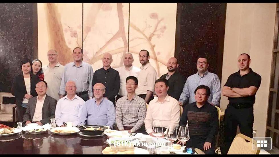 נציגי ישראל-סין בכנס ()