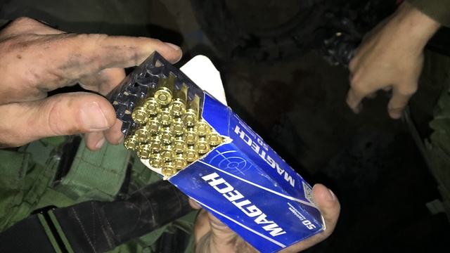 Seized ammunition (Photo: IDF Spokesperson's Unit) (Seized ammunition (Photo: IDF Spokesperson's Unit))