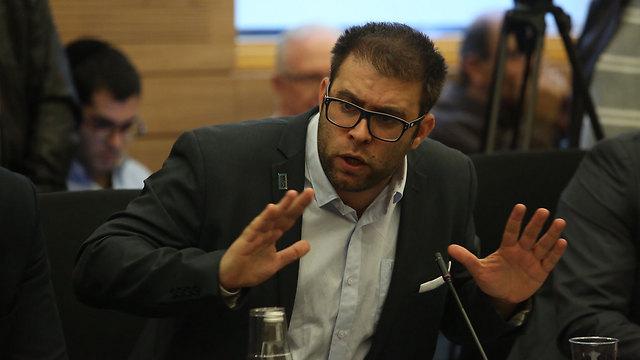 """""""הכנסת הפכה לכלי שרת בידי השמאל הקיצוני"""" (צילום: גיל יוחנן)"""