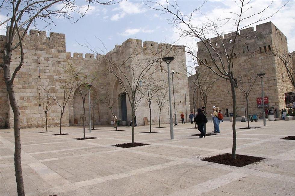 The Jaffa Gate Plaza (Photo: The Western Wall Heritage Foundation)