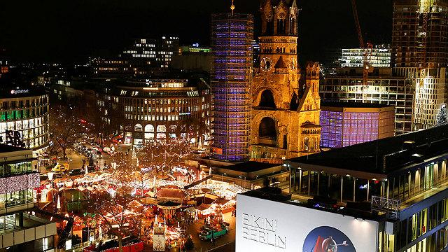 כך נראה שוק חג המולד בברלין בימים כתיקונם (צילום: רויטרס) (צילום: רויטרס)