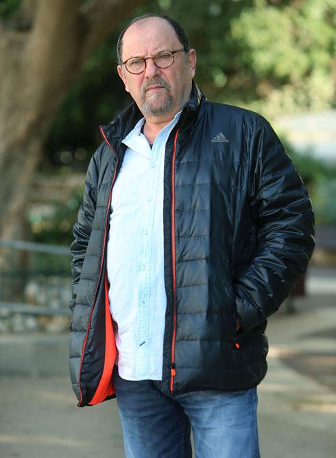 """בורשטיין, השבוע בתל אביב. """"לפחות אני יודע שהנהג בחיים"""" (צילום: צביקה טישלר)"""