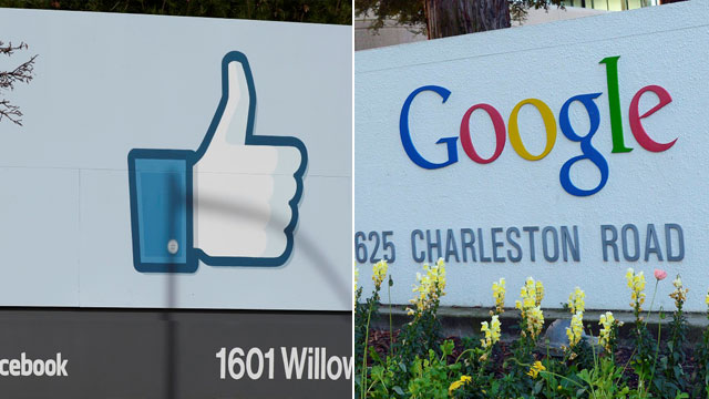 גוגל וגם פייסבוק