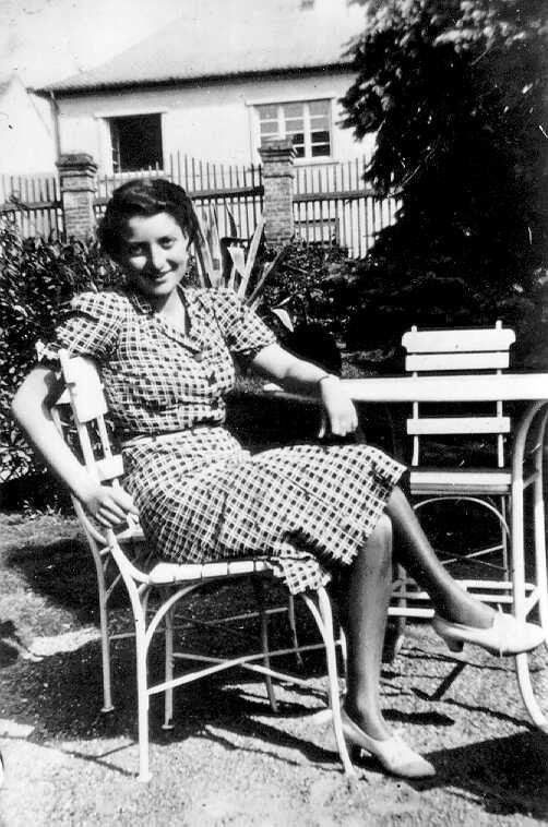 Young Golda Meir