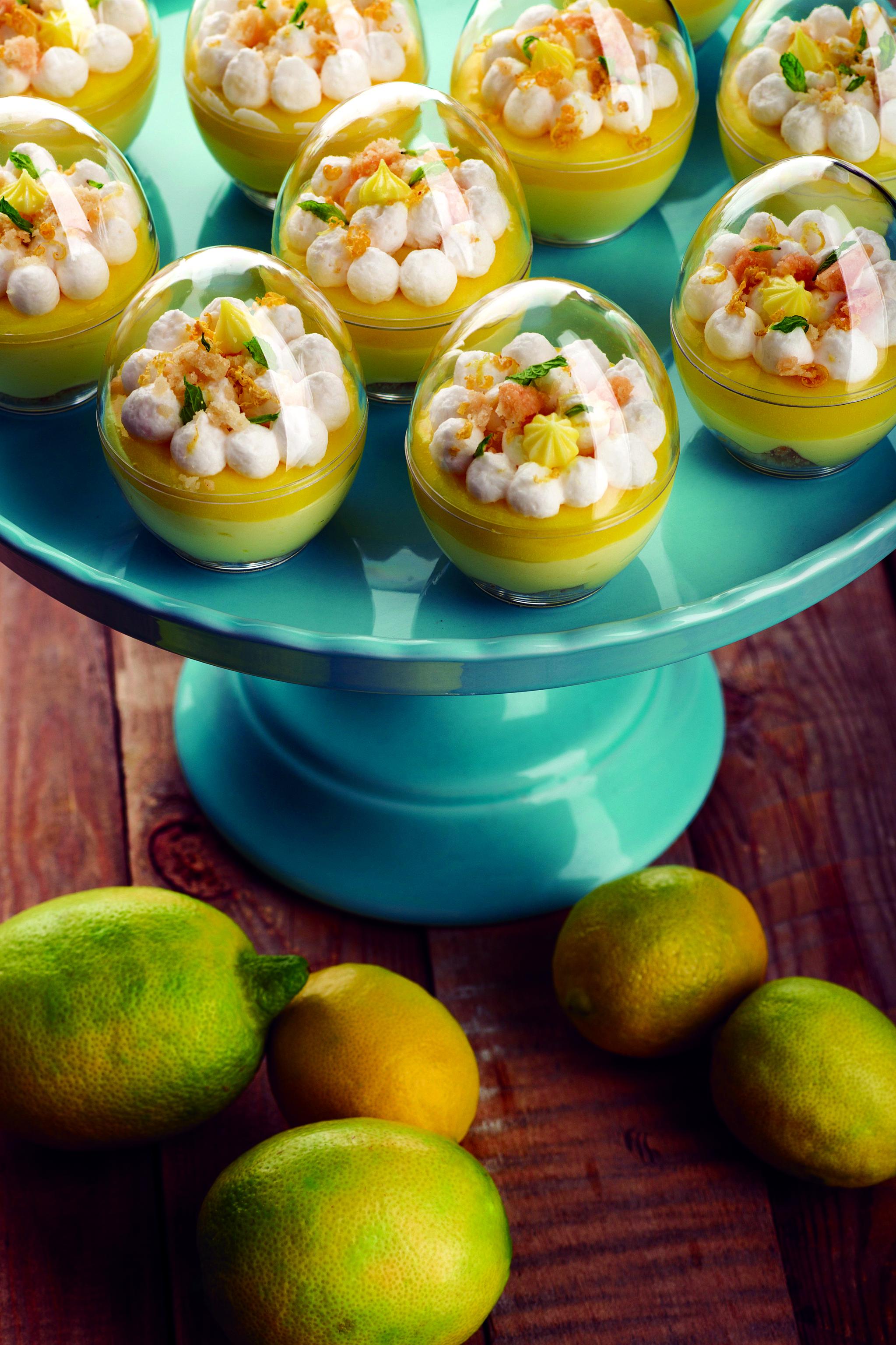 Киндер-сюрпризы с лимонным тартом. Фото: Анатолий Криницкий