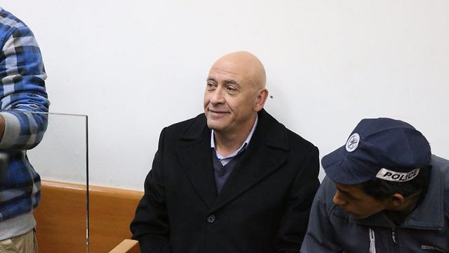 MK Ghattas at court (Photo: Motti Kimchi)