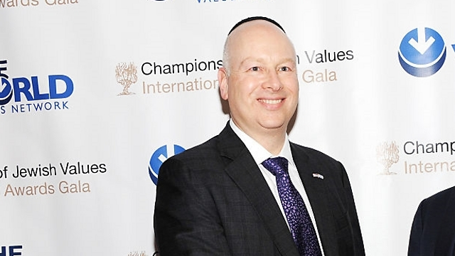 Trump advisor to Israel Jason Greenblatt (Photo: gettyimages)