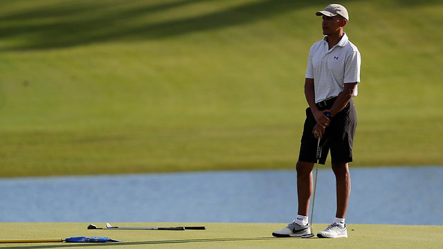 Obama in Hawaii. Did Trump's interference affect his decision? Probably (Photo: AP)