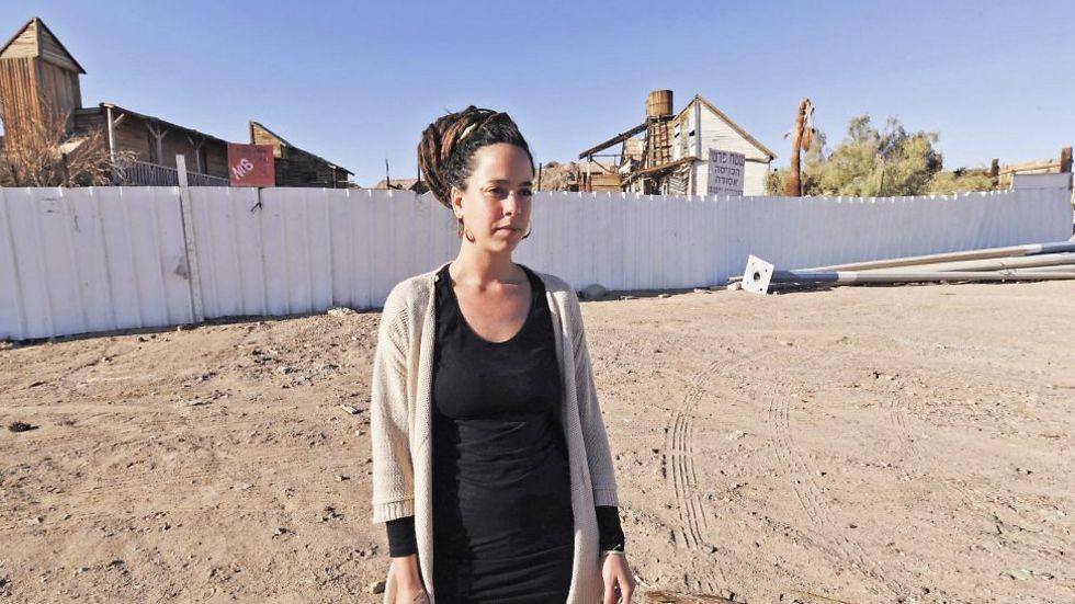עדי לוסטיג - כבר החלה לגייס פעילים למאבק (צילום: יוסי דוס-סנטוס)