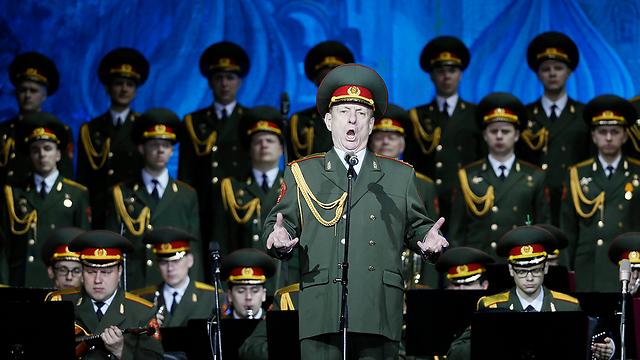 מקהלת הצבא האדום (צילום: EPA) (צילום: EPA)