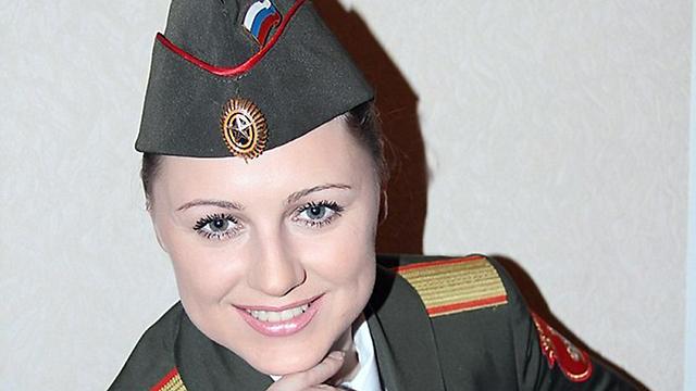 הרקדנית יקטרינה קורזנובה. נהרגה עם בן זוגה ()