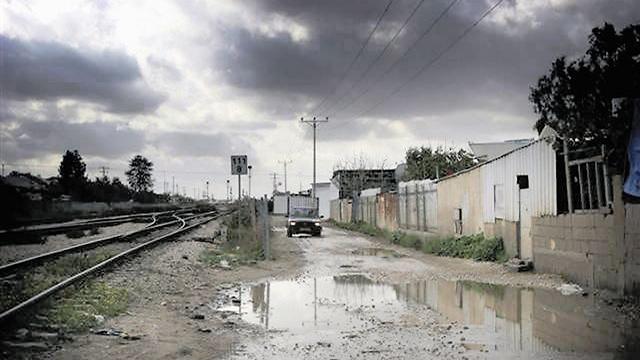 כפר דהמש. הזנחה  (צילום: אבי מועלם)