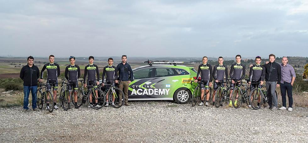 אימון הקבוצה בישראל (צילום: Israel Cycling Academy)