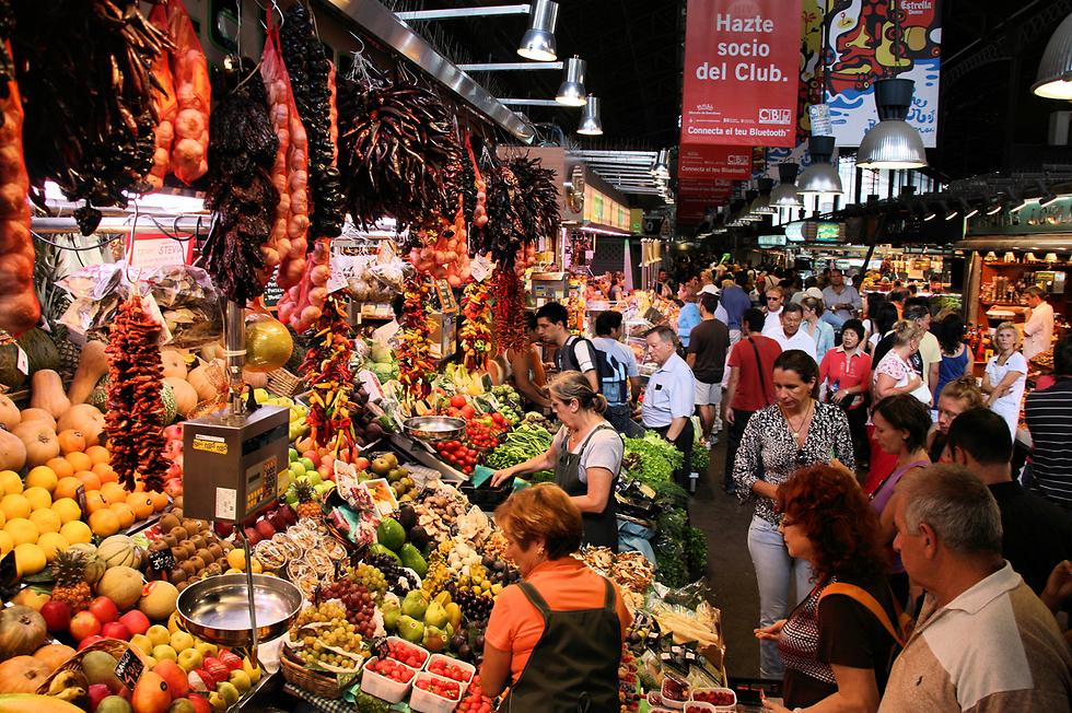 שוק בוקריה (צילום: shutterstock)