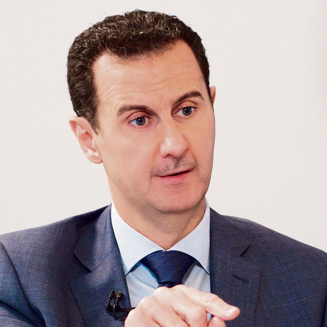 נשיא סוריה, בשאר אל־אסד   צילום: איי.אף.פי