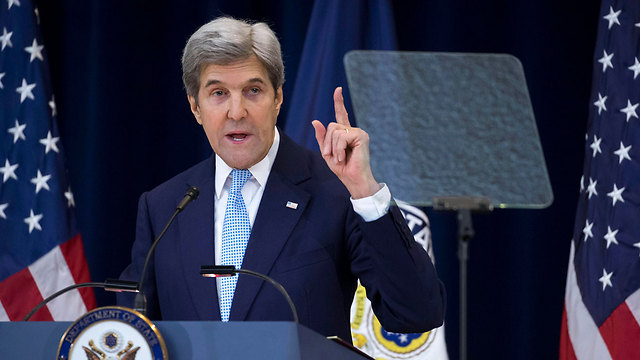 Kerry's speech to the State Department angered Netanyahu. (Photo: EPA) (Photo: EPA)